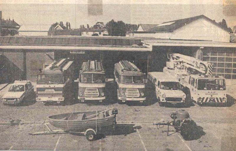 incident bestrijdings voertuigen
